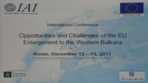 Allargamento UE ai balcani