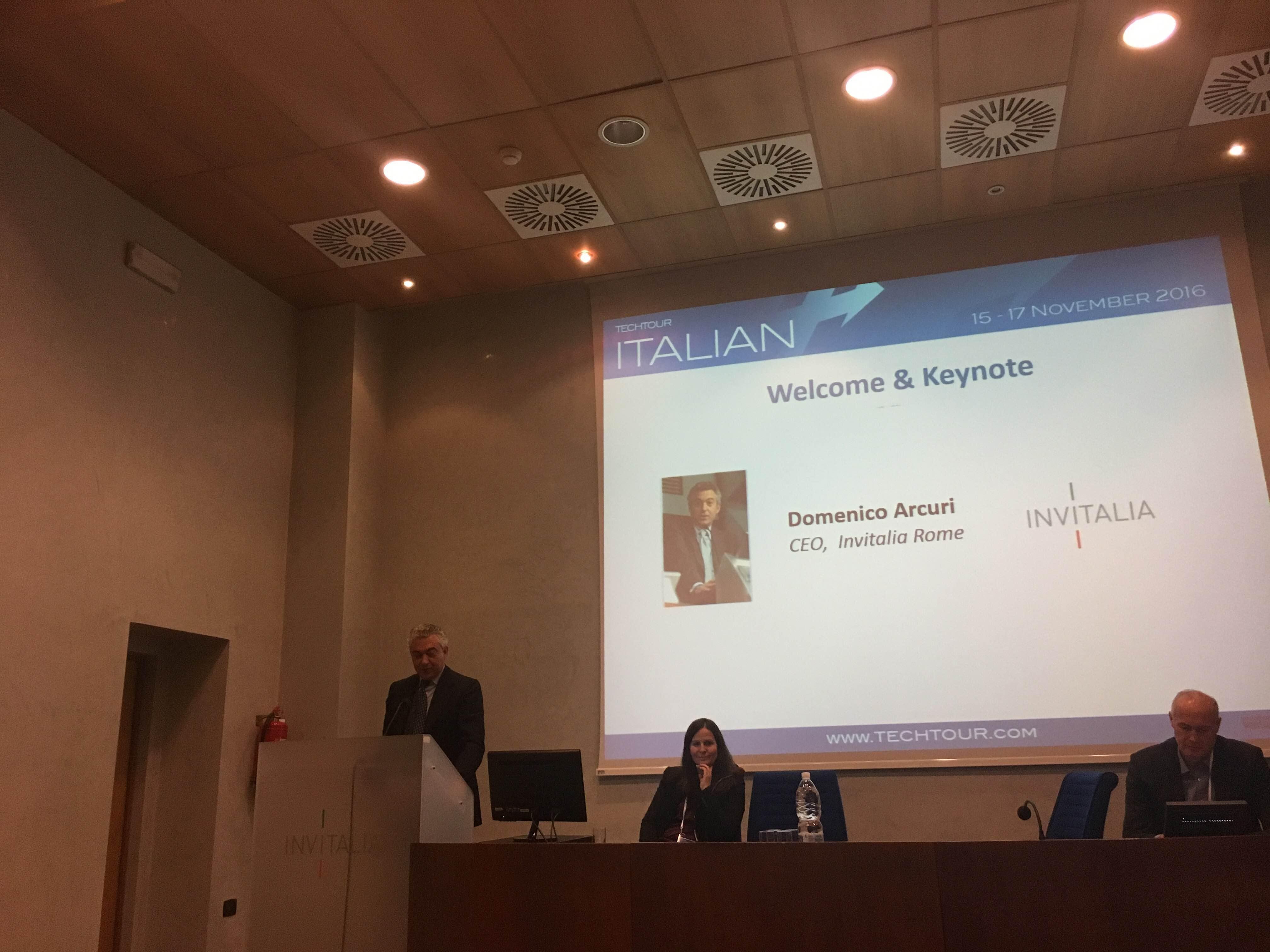 Italian Tech Tour 2016