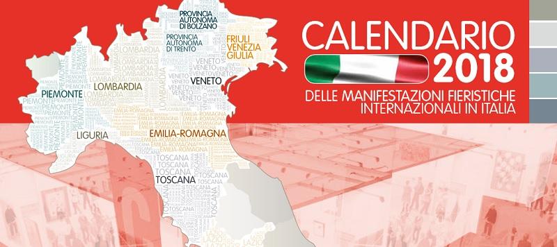 manifestazioni fieristiche 2018 in Italia