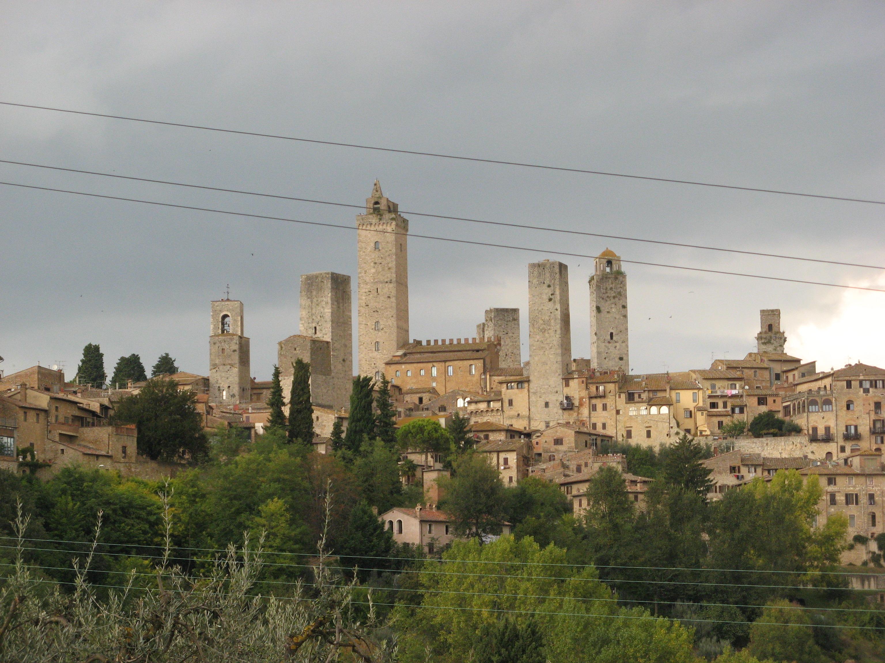 Veduta San Gimignano