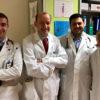 Team Ambulatorio prevenzione allergie OPBG_da SX_Maurizio Mennini_Alessandro Fiocchi_Vincenzo Fierro_Carla Riccardi