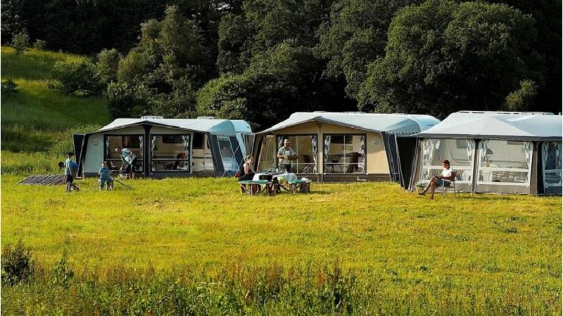 Campeggio turismo itinerante