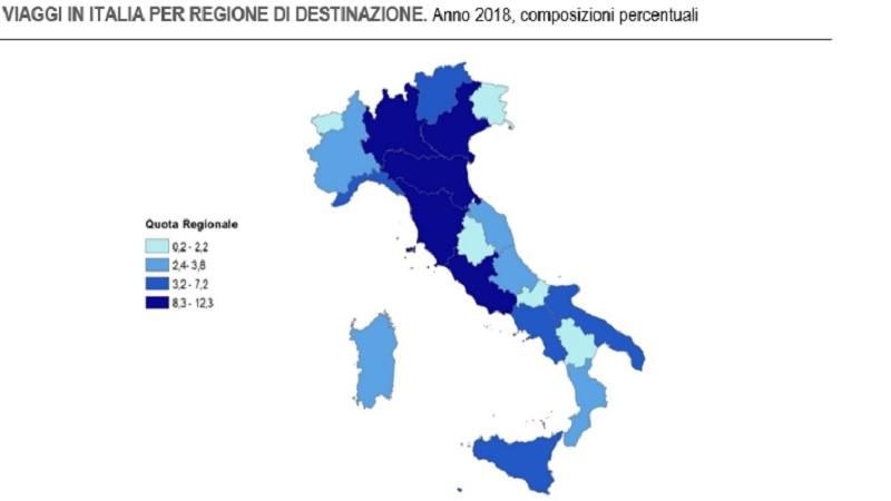 Italia infografica per copertina articolo