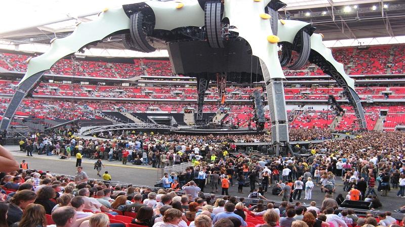 pubblico concerto Londra