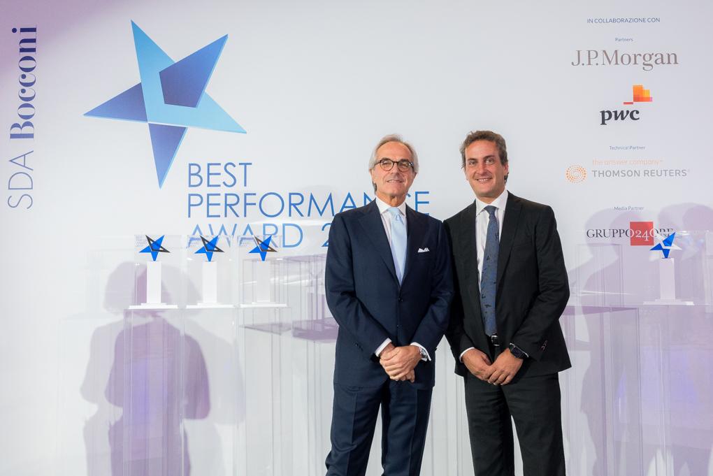 Best performance Award Maurizio Dallocchio e Leonardo Etro