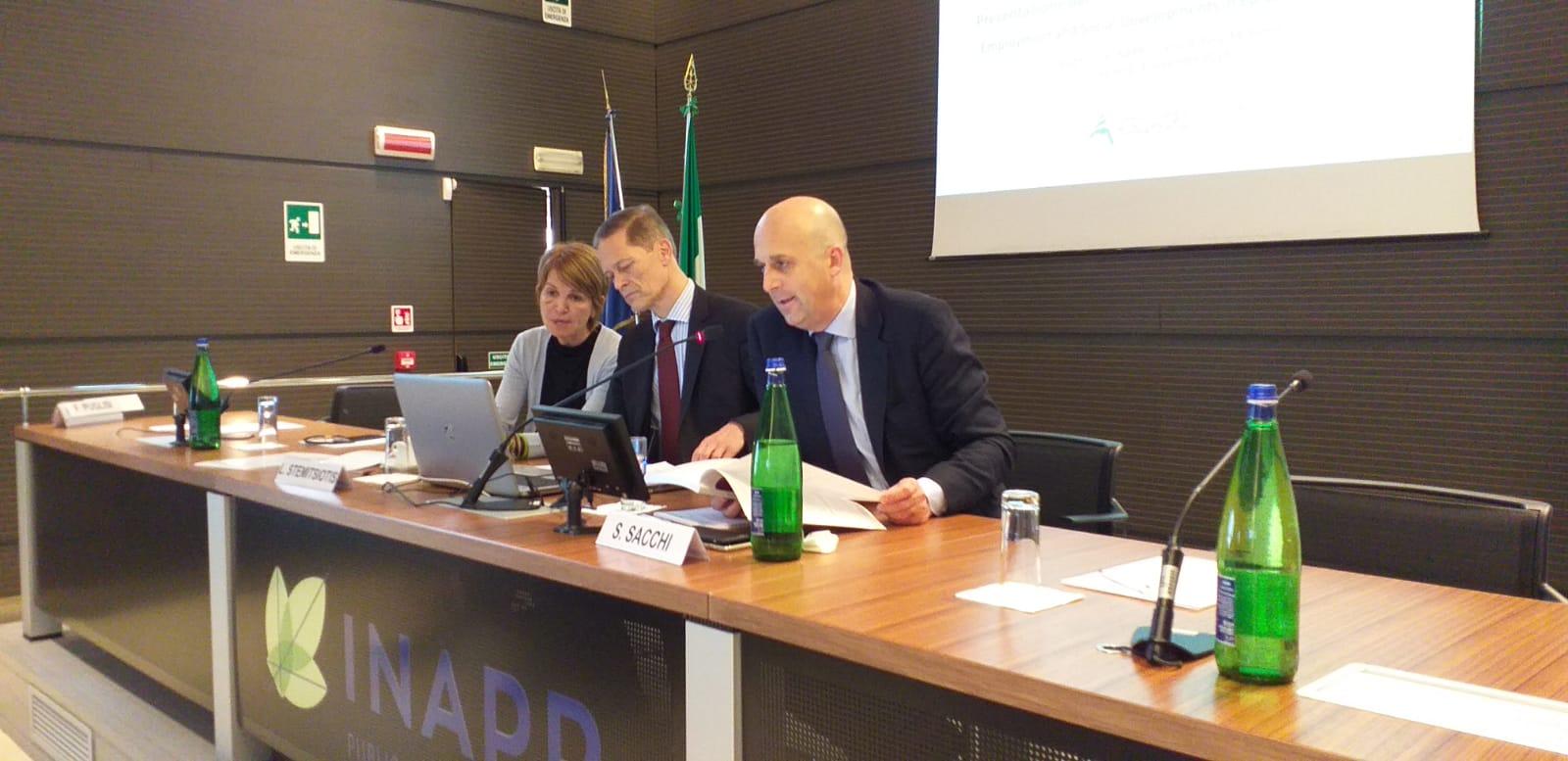 INAPP presentazione rapporto ESDE 1