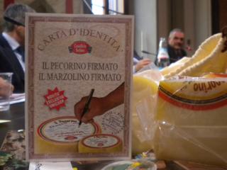 carta identità formaggi