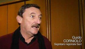 Guido Corniolo , Apprendistato