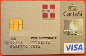 carta di credito per la cultura