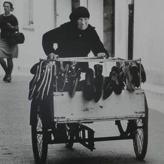 mestiere donna - venditrice ambulante udine - anni sessanta