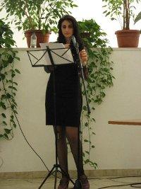 Antonella Civale alle letture di memorie