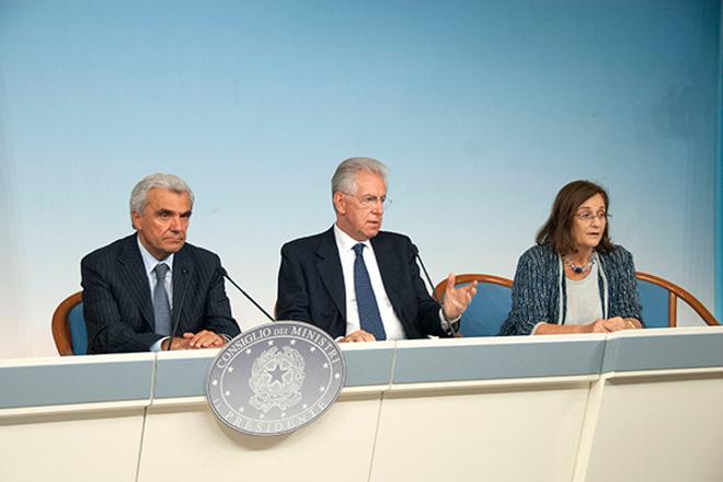 Conferenza stampa termine CDM x sanita