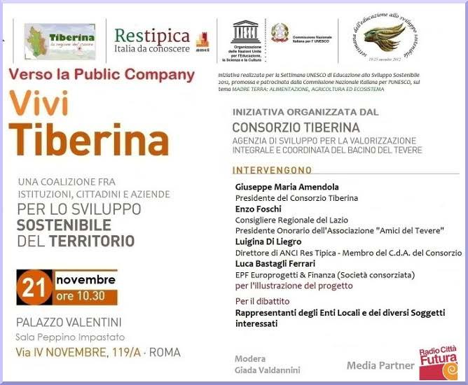 Invito Consorzio Tiberina