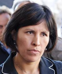La Segretaria confederale della CILS, Liliana Ocmin