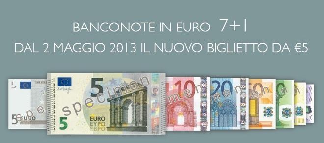 nuove banconote euro