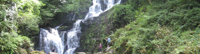 cascatella di montagna
