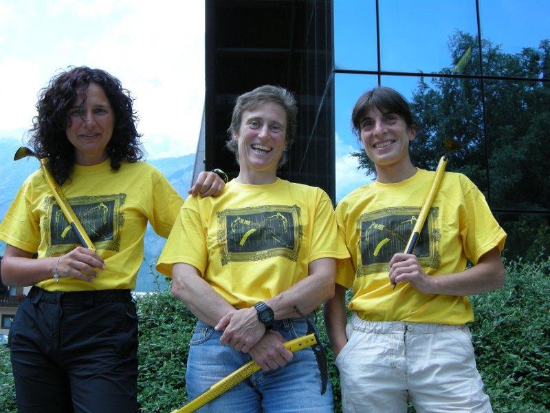 Le 3 alpiniste italiane