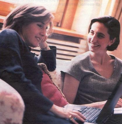 Le artigiane Bruna e Livia