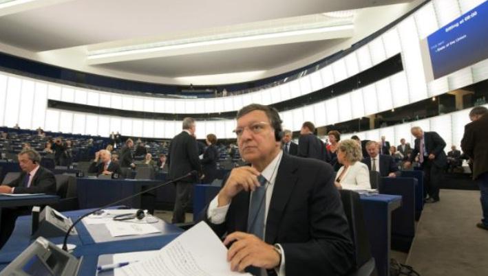 Barroso in Parlamento