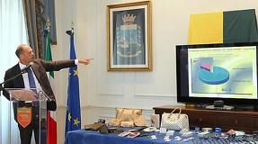 Angelino Alfano presenta operazione