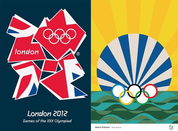 Manifesti Olimpiadi Londra 2012 e Rio 2016
