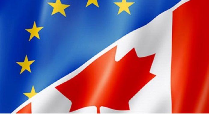 Bandiera composita UE Canada