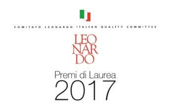 Premi laurea 2017 Comitato Leonardo(1)