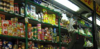 prodotti alimentari in scatola