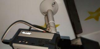 telecamera di videosorveglianza