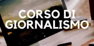 CORSO DI GIORNALISMO(1)