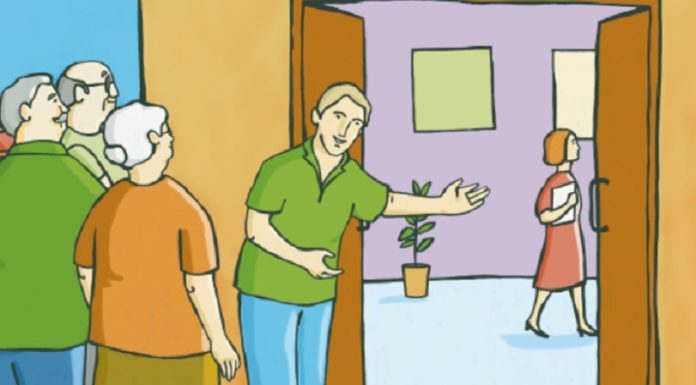 volontari Auser per aiuto anziani