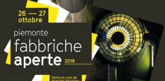 Fabbriche aperte Piemonte 2018