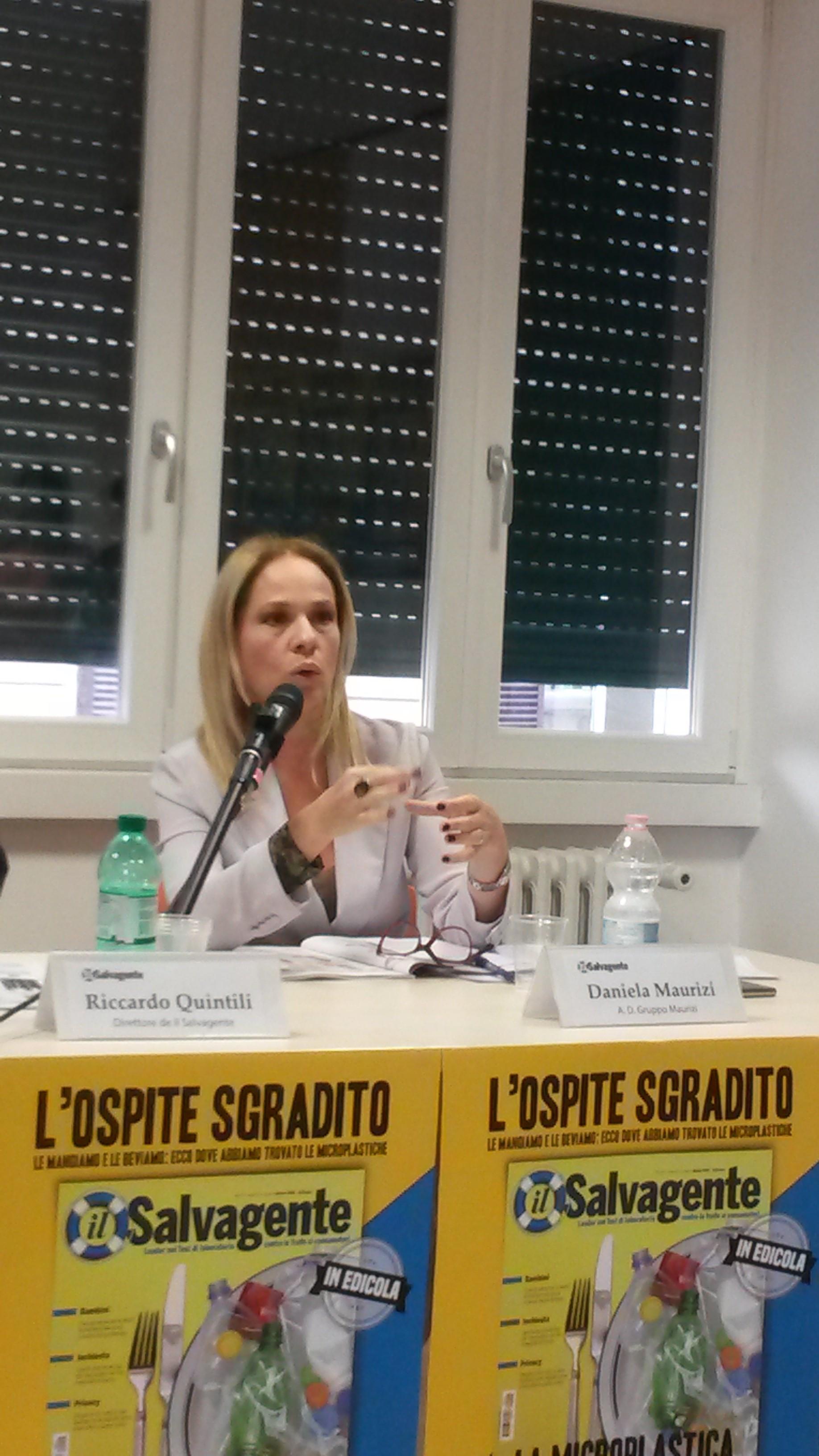 microplastica - chimica Daniela Maurizi